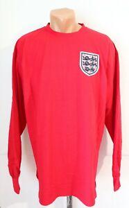 ENGLAND 1966 AWAY SHIRT JERSEY TOP #6 SCORE DRAW WORLD CUP WINNERS '66 MEN'S XL
