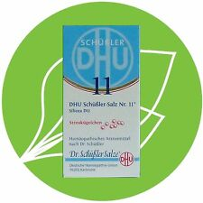 Schüßler Salz Nr.11 Silicea D12 DHU Globuli PZN 10545976