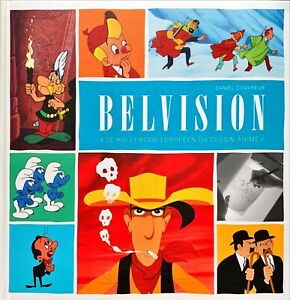 BELVISION, LE HOLLYWOOD DU DESSIN ANIME + 2 DVD -D. Couvreur-Lombard-comme neuf