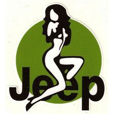 JEEP Pin Up Sticker
