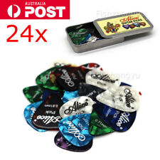 "24PCS "" Alice "" GUITAR PICKS + Tin * BARGAIN - FREE AU POST"