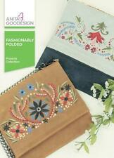 Fashionably Folded Anita Goodesign Embroidery Machine Design CD NEW