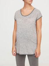 Camisas y tops premamá color principal gris