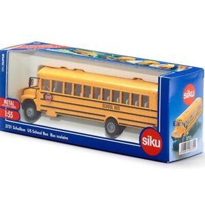 US School Bus - 1:55 Scale Model by Siku - 3731