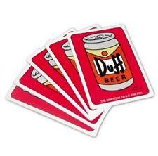 The SIMPSONS  DUFF BEER - Spielkarten Kartenspiel Playingcards Jeu de Cartes OVP