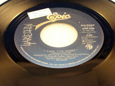 HARLEQUIN - Take This Heart / Can't Turn It Off - 1984 NEAR MINT- CANADA 45