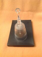 "7"" Gorgeous Lead Crystal Galway Dinner Bell"