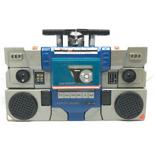 Vintage Transformers Radio 1984 AM ROBOTIC RADIO by Tai Fong TS-558FH Boom Box