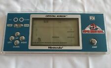 Rare ! Game and Watch super Mario Crystal