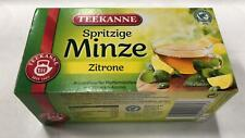 Teekanne minz Aromatic mint lemon 20bags 1.05oz $33.3/100g