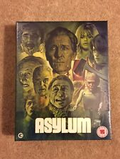 Asylum Blu ray - Hardbox version By Second sight. Rare OOP - Brand New Sealed