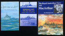 Australia's Navy The First 100 Almanac Years RAN & MacArthur Spin Me A Dit Books