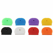 Porte-clés caoutchouc fin Étiquettes Chapeaux Marqueurs mélangés Durable #JH