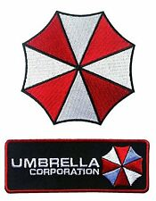 Umbrella Corporation Logo Resident Evil Jacket Cosplay Patch set of 2 Iron on