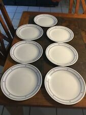 Corelle Country Hearts Dinner Plates Microwave Safe Made in USA Set of 7
