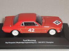 BTCC CHAMPION CARS, FORD MUSTANG 1965 ROY PIERPOINT (WEYBRIDGE ENG). MAG HR14