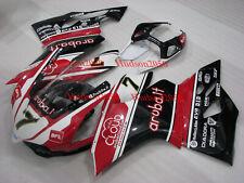Fairing Set For Ducati 899 1199 Panigale 2012-2014 Kit #07 White Red Black