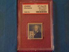 #892 1940 Elias Howe PSE Encapsulated & Graded XF-Sup 95 MINT OGNH