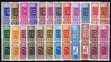 Repubblica -1955/72 - Pacchi Postali Filigrana Stelle - nn.82/105 - nuovi (MNH)