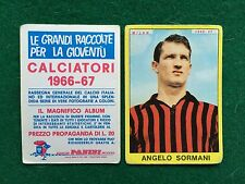 CALCIATORI 1966/67 66/1967 MILAN Angelo SORMANI Figurina Sticker Panini (NEW)