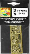 Aber Browning M-1919 Photoetched Detail Set 35A32