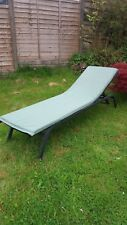 NEW GARDEN SUN LOUNGER CUSHION AND HEAD PAD