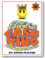 Steve Player's Cash King - Winning Pick-4 Lottery System
