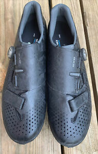 Shimano RX8 Carbon Gravel Boa MTB Cycling Shoes Black SH-RX800M (US 10.5)