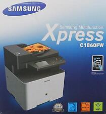 Samsung Xpress C1860FW Farblaser Multifunktionsgerät  (OU6RC71)