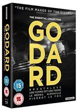 Godard The Essential Collection 5055201832207 Blu-ray Region B