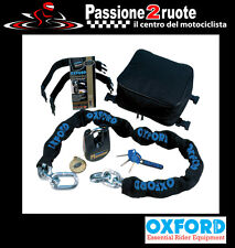 catena serpentone maxi scooter moto Oxford monster borsa sella 1,5m chain seat