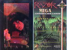 RAZOR MEGA CHROMIUM - Everette Hartsoe Autograph Card