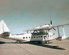"SIKORSKY S-43 N-440 AMPHIBIOUS AIRCRAFT 8x10"" HAND COLOR TINTED PHOTOGRAPH"