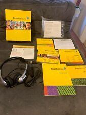 Learn Italian: Rosetta Stone Espanol Spanish - Level 1 headset windows/mac (1)