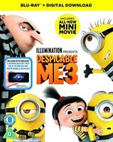 Despicable Me 3 [Blu-ray] [2017] [DVD][Region 2]