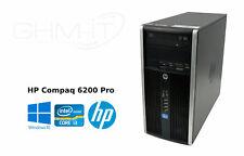 HP COMPAQ 6200Pro i3-2120 Microtower 4 GB RAM 250 GB HDD DVD-ROM WIN10 Pro aktiv