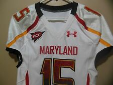 cf2a0900b70 Maryland Terrapins Game Used Worn Issued Football Jersey Under Armour