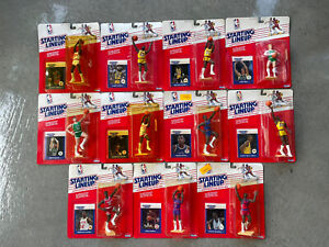 1988 starting lineup lot - michael jordan - bird olajuwon worthy and others!