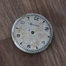 Vintage BULOVA Movement 10BTC Good Balance Watchmakers Parts Repairs Spares