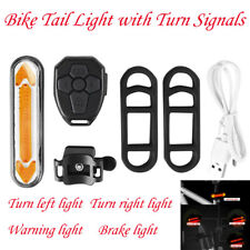 Bike Tail Light with Turn Signals, USB Rechargeable LED Safety Bike Rear Lights