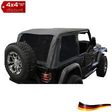 Bowless Stoffdach Schwarzer diamant Jeep Wrangler YJ 1992/1995 (2.5 L 4.0 L)