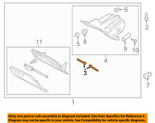 FORD OEM 12-18 Focus INSTRUMENT PANEL-Glove Box Assembly Hinge Pin CV6Z5806056A