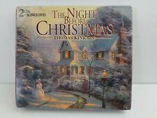 The Night Before Christmas, Thomas Kinkade, 2 CD's & DVD Holiday Set