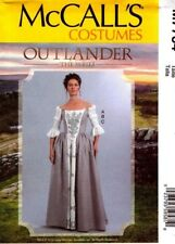 McCalls Sewing Pattern 7764 M7764 Outlander Womens Costume Size 14-22 NEW