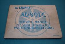 Yamaha RD 80 LC 1982 Wartungsanleitung Service Manual D'Atelier Handbuch