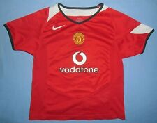 Manchester United / 2004-2006 Home - NIKE - KIDS Shirt / Jersey. Size 110-116 cm