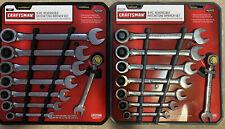 Craftsman 16pc Metric Standard Reversible Ratcheting Combination Wrench Set