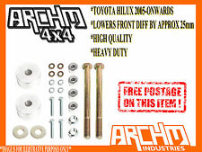 TOYOTA HILUX COIL/LEAF KUN26R / N70 2005-ONWARDS DIFF DROP KIT