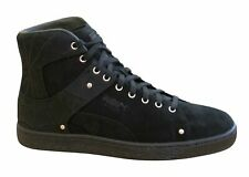 Puma Suede Classic x En Noir Spiderweb Black Leather Mens Trainers 366319 01