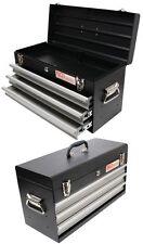 BGS 3312 - Metall Werkzeugkoffer, leer, 3 Schubladen